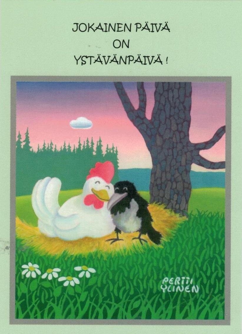 Ystävänpäivä Kortti