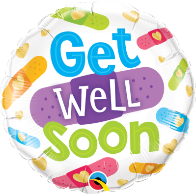 Foliopallo Get well soon