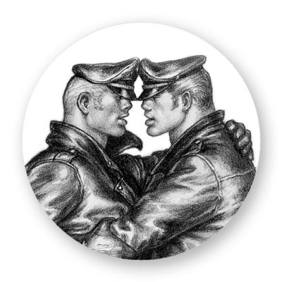 Tom of Finland miehet magneetti
